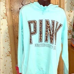 Foam green pink pullover